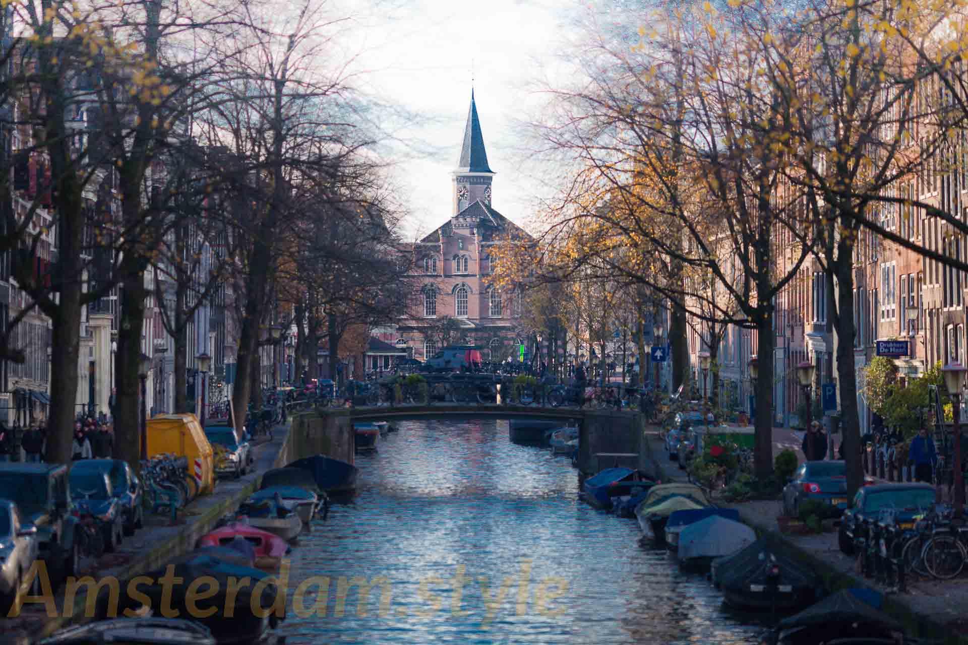 Le quartier du Jordaan à Amsterdam