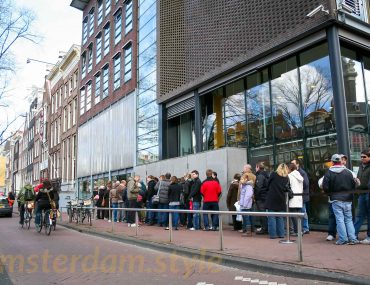 Anne Frank's House line