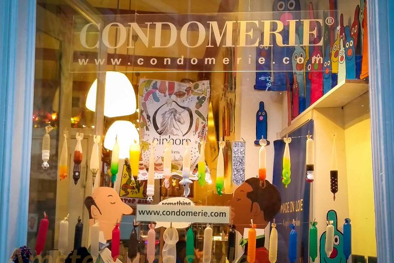 Condoms - boutique la condomerie