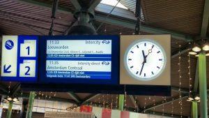 quai pour Amsterdam