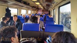 Intérieur du train pour AMsterdam