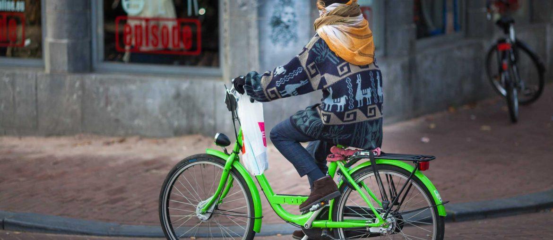 Amsterdam en bicyclette