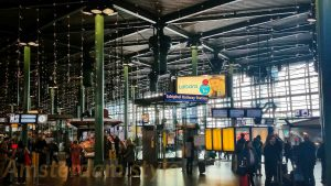 Schiphol Airport - Station Concourse, catch the train to Amsterdam