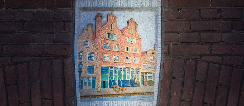 façade du cambrioleur d'Amsterdam Sjako