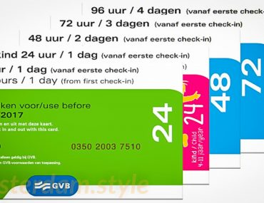 Amsterdam transport Pass