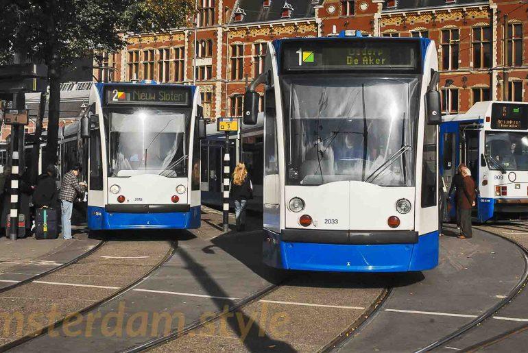 Tram d'AMsterdam