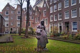 Le béguinage d'Amsterdam - Pays-Bas