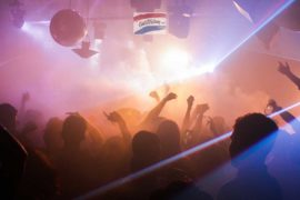 Amsterdam night club